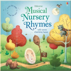 Детская книга со звуковыми эффектами Usborne Musical Nursery Rhymes