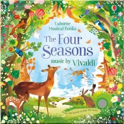 Детская книга со звуковыми эффектами Usborne The Four Seasons Musical Book (with music by Vivaldi)