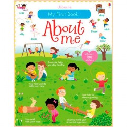 Детская книга Usborne My First Book About Me