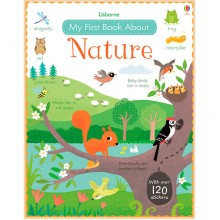 Детская книга Usborne My First Book About Nature