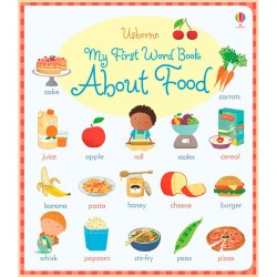 Детская книга Usborne My First Word Book about Food