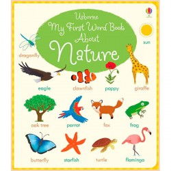 Детская книга Usborne My First Word Book About Nature
