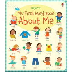 Детская книга Usborne My First Word Book About Me