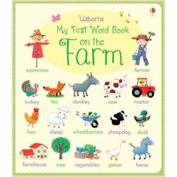Детская книга Usborne My First Word Book: On the Farm