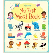 Детская книга Usborne My First Word Book