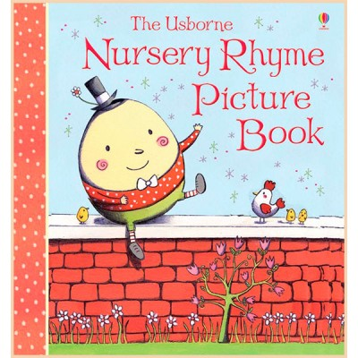 Детские песенки (Рифмы) на английском Usborne Nursery Rhyme Picture Book