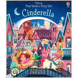 Детская книга Usborne Peep Inside a Fairy Tale Cinderella (Золушка)