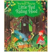 Детская книга Usborne Peep Inside a Fairy Tale Little Red Riding Hood (Красная Шапочка)