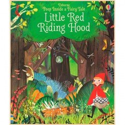 Детская книга Usborne Peep Inside a Fairy Tale Little Red Riding Hood (Красная Шапочка)