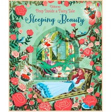 Детская книга Usborne Peep Inside a Fairy Tale Sleeping Beauty (Спящая Красавица)