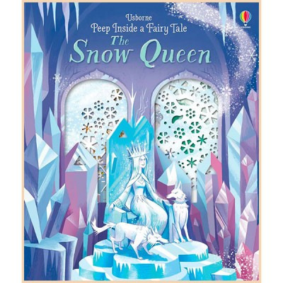 Детская книга Usborne Peep Inside a Fairy Tale Snow Queen (Снежная королева)