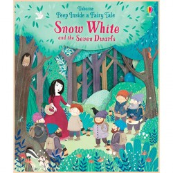 Детская книга Usborne Peep Inside a Fairy Tale Snow White and the Seven Dwarfs (Белоснежка и Семь Гномов)