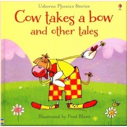 Детский сборник рассказов Usborne Cow Takes a Bow and Other Tales with CD
