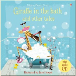Детский сборник рассказов Usborne Giraffe in the Bath and Other Tales with CD