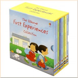 Детская коллекция книг Usborne First Experiences Collection (8 Books)