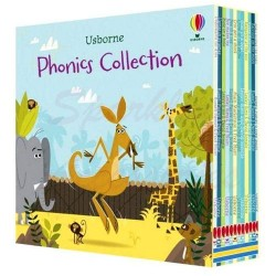 Детская коллекция книг Usborne Mini Phonics Boxset (12 Books)