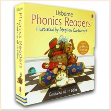 Usborne Phonics Readers 12 illustrated Books Set Collection