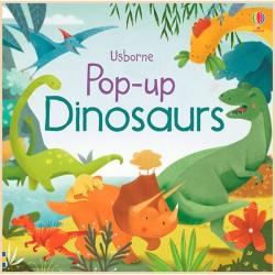 Детская книга Usborne Pop-Up Dinosaurs