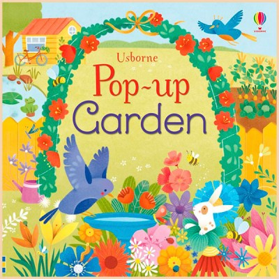 Детская книга Usborne Pop-Up Garden