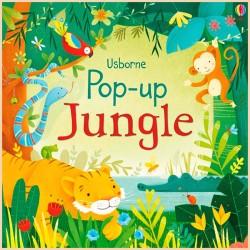 Детская книга Usborne Pop-Up Jungle