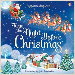 Детская книга Usborne Pop-up 'Twas the Night Before Christmas