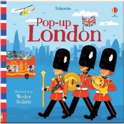 Детская книга Usborne Pop-Up London