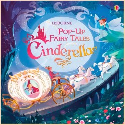 Детская книга Usborne Pop-up Fairy Tales Cinderella (Золушка)