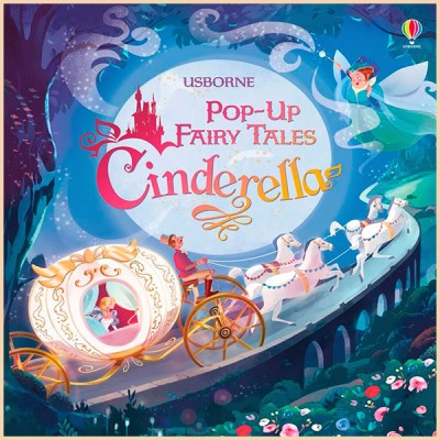 Детская книга Usborne Pop-up Fairy Tales Cinderella (Золушка)
