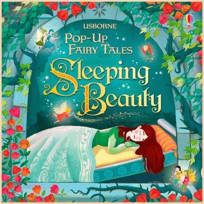 Детская книга Usborne Pop-up Fairy Tales Sleeping Beauty (Спящая красавица)