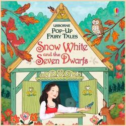 Детская книга Usborne Pop-up Fairy Tales Snow White and the Seven Dwarfs (Белоснежка и семь гномов)