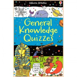 Детская книга Usborne General Knowledge Quizzes (Activity and Puzzle Books)