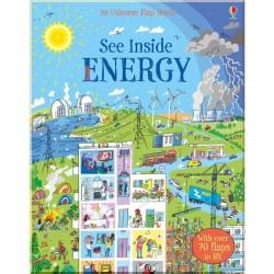Детская познавательная книга Usborne See Inside Energy
