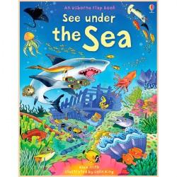 Детская познавательная книга Usborne See Inside See Under the Sea