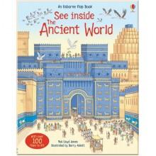 Детская познавательная книга c окошками Usborne See Inside the Ancient World