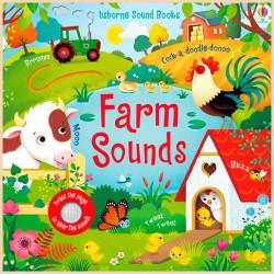 Детская звуковая книга Usborne Farm Sounds Books (Noisy Books)