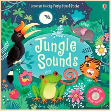 Usborne Jungle Sounds Books (Touchy-Feely Books)