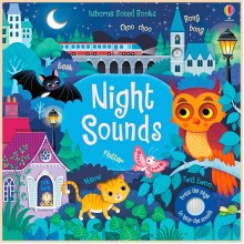 Детская звуковая книга Usborne Night Sounds Books (Noisy Books)