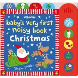Детская книга со звуковыми эффектами Usborne Baby's very first noisy book: Christmas