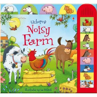 Детская звуковая книга Usborne Noisy Farm (Noisy Books)