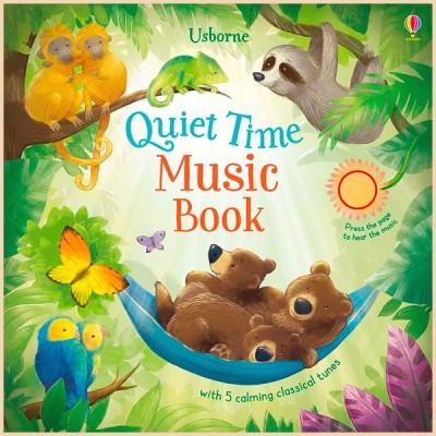 Детская книга со звуковыми эффектами Quiet Time Music Book