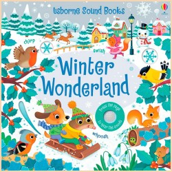 Детская звуковая книга Usborne Winter Wonderland Sound Book (Noisy Books)