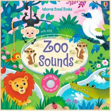 Детская звуковая книга Usborne Zoo Sounds Books (Noisy Books)