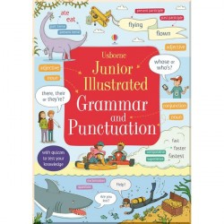 Грамматика английского языка для детей Usborne Junior Illustrated Grammar and Punctuation (Illustrated Dictionary)