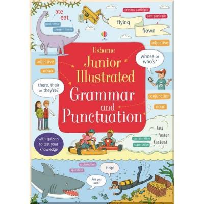 Грамматика английского языка для детей Usborne Junior Illustrated Grammar and Punctuation (Illustrated Dictionary)