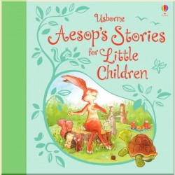 Детская книга Usborne Aesop's Stories for Little Children