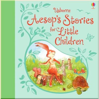 Детская книга Usborne Aesop's Stories for Little Children