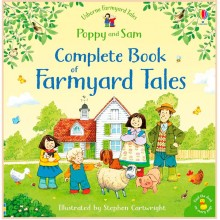 Детская книга Usborne The Complete Book of Farmyard Tales