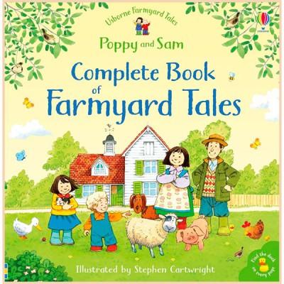 Детская книга Usborne The Complete Book of Farmyard Tales