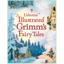 Детская книга Usborne Illustrated Grimm's Fairy Tales (Сказки братьев Гримм)