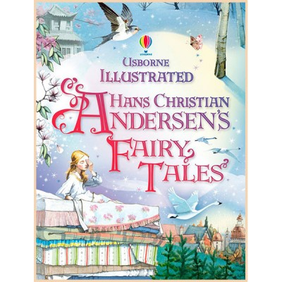 Детская книга Usborne Illustrated Hans Christian Andersen's Fairy Tales (Сказки Ганса Кристиана Андерсена)